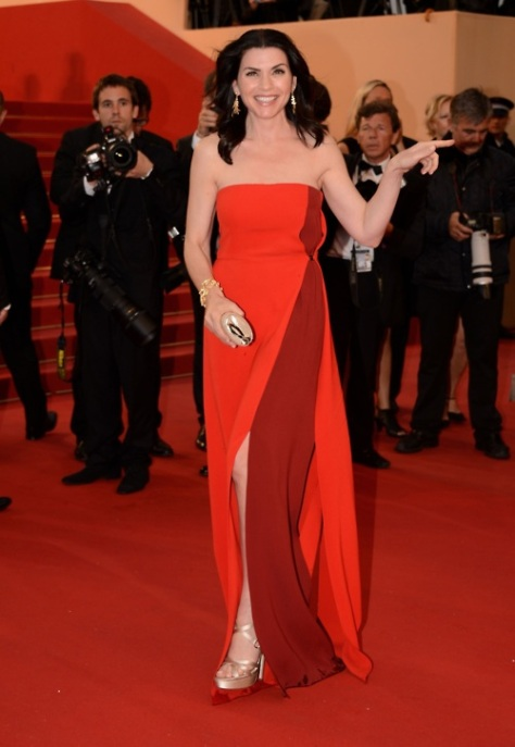 "Julianna Margulies at the ""Cosmopolis"" Premiere at the 65th Cannes Film Festival - May 25, 2012"