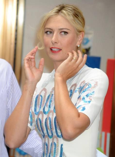 Maria Sharapova - Sugarpova candy Launch in New York City 8/20/12