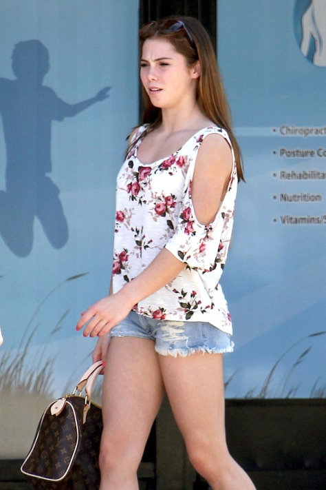 McKayla Maroney Out and About in LA 8/18/2012