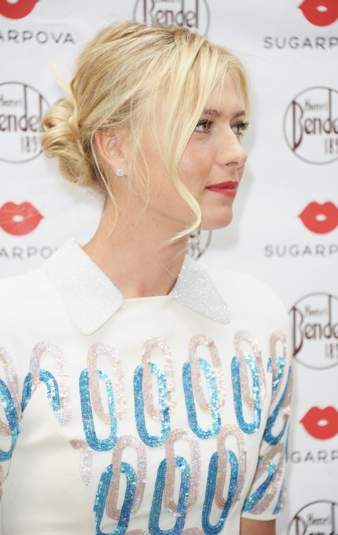 Maria Sharapova - Sugarpova candy Launch in New York City 8/20/12