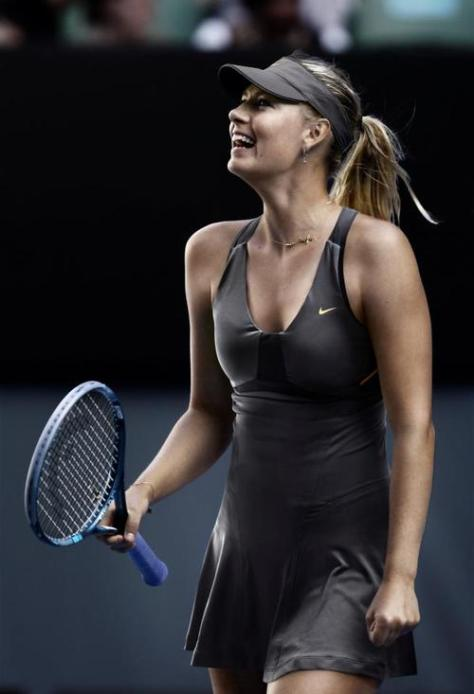 Maria Sharapova 2012 Nike US Open Outfit (night)