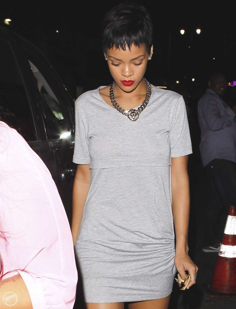 Rihanna - Eden Club in Hollywood 9/15/12
