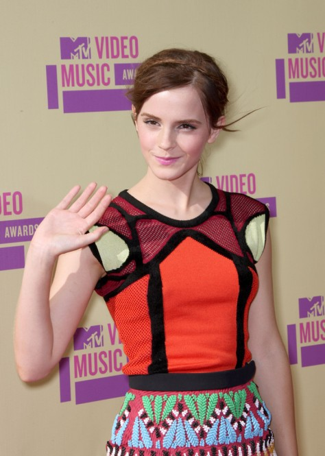 Emma Watson - MTV Video Music Awards in Los Angeles - September 6, 2012