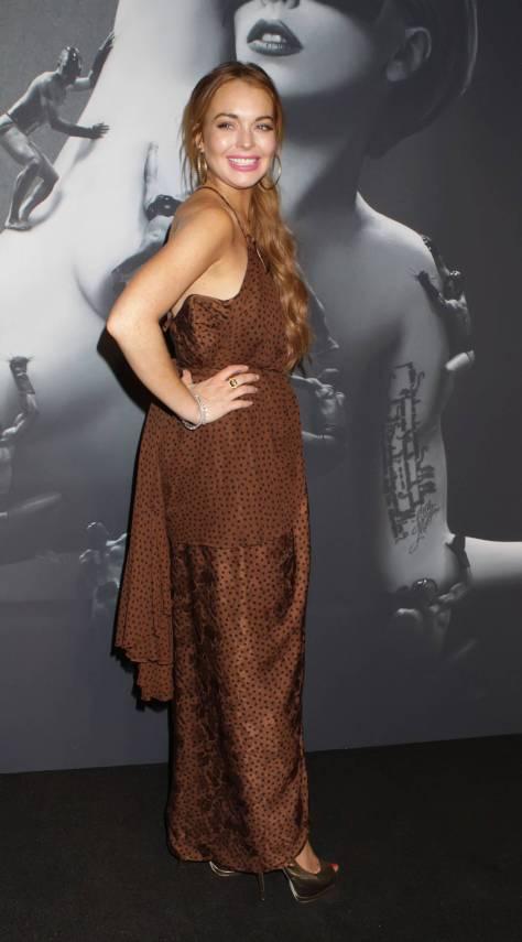 Lindsay Lohan - Lady Gaga Fame Perfume Launch in NY 09/13/12