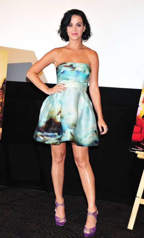 Katy Perry - Part of Me stage greeting in Tokyo - 09/25/12