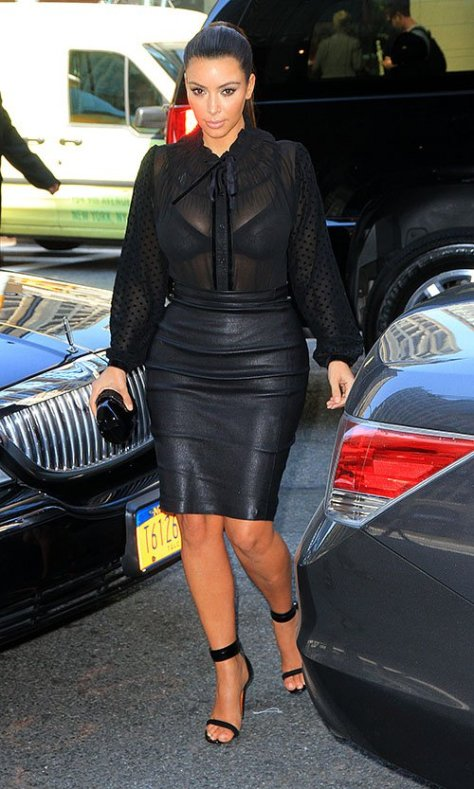 Kim Kardashian out and about in New York - 09/14/12