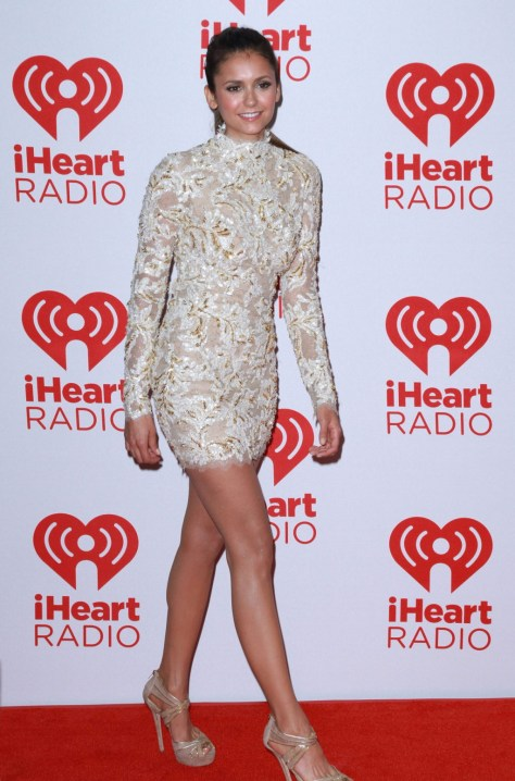 Nina Dobrev - IHeartRadio music festival in Las Vegas 09/22/12