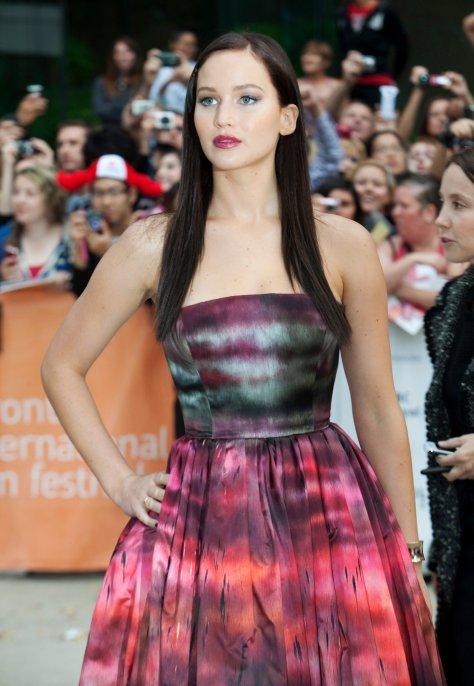 Jennifer Lawrence - Silver Linings Playbook premiere in Toronto - 09/08/12