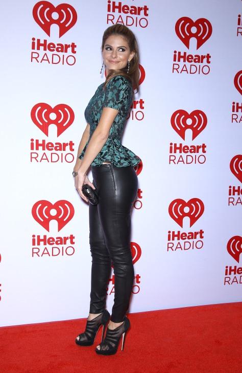 Maria Menounos - IHeartRadio music festival in Las Vegas 09/22/12
