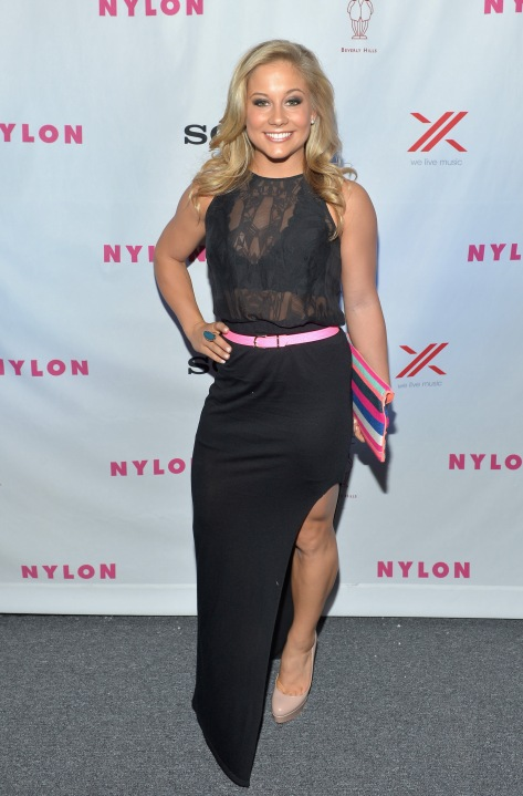 Shawn Johnson - Nylon September TV Issue Party in Beverly Hills 09/15/12
