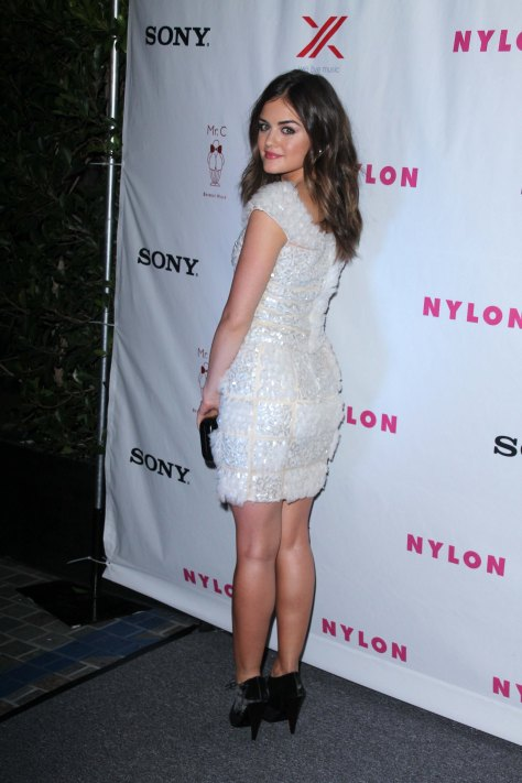 Lucy Hale - Nylon September TV Issue Party in Beverly Hills 09/15/12