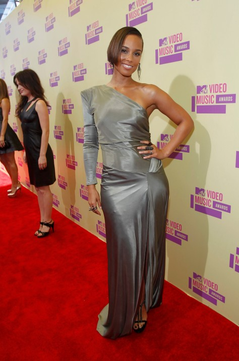 Alicia Keys - 2012 MTV Video Music Awards in LA 09/06/12