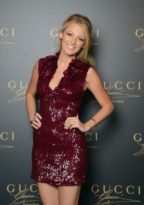 Blake Lively - Gucci party in Venice - 09/01/12