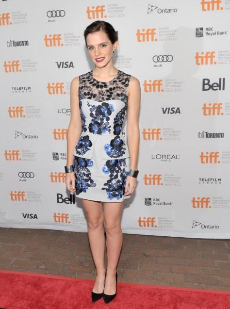 Emma Watson - 'The Perks of Being Wallflower' premiere @ TIFF - September 8, 2012