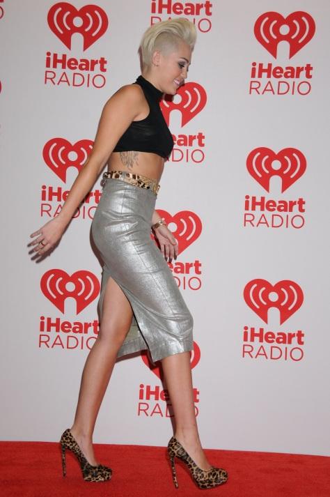 Miley Cyrus - IHeartRadio music festival in Las Vegas 09/21/12
