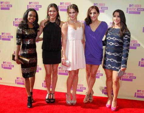 'Fab 5' - MTV Video Music Awards in Los Angeles - 09/06/12