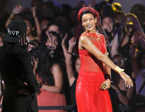 Rihanna - MTV Video Music Awards in Los Angeles - 09/06/12