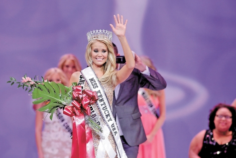 Allie Leggett, of Whitley City, was crowned Miss Kentucky USA 2013