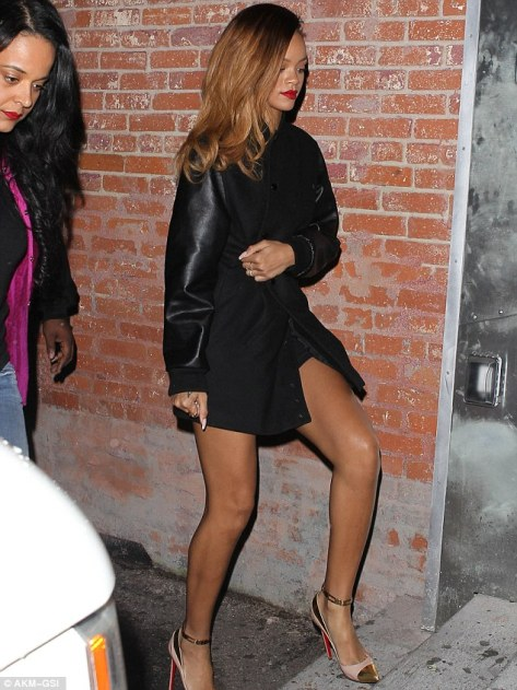 Rihanna - at the Eden nightclub in Hollywood 01-24-13