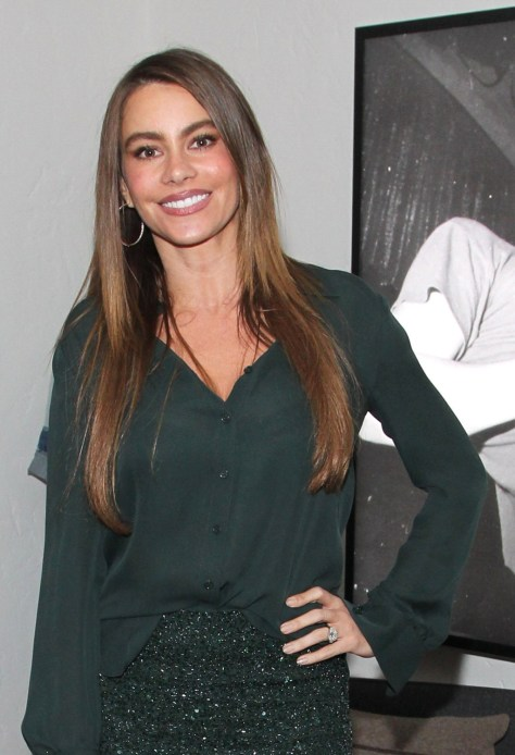 Sofia Vergara - Modern Family Pre SAG Dinner in Los Angeles 01/25/13