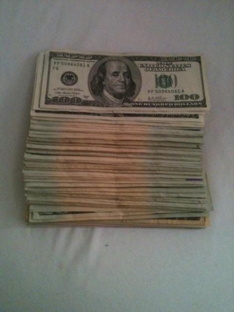 ... cash
