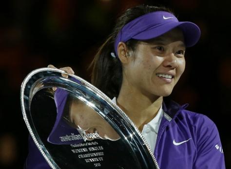 Na Li: The Runner Up 2013 Australian Open Jan 26