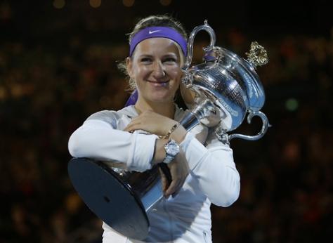 Victoria Azarenka: The Winner 2013 Australian Open Jan 26