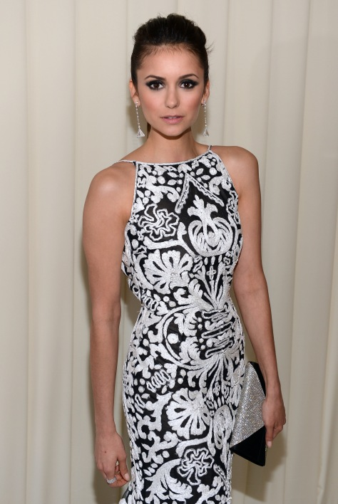 Nina Dobrev - 21st Annual Elton John AIDS Foundation Academy Awards Party Feb 24, 2013