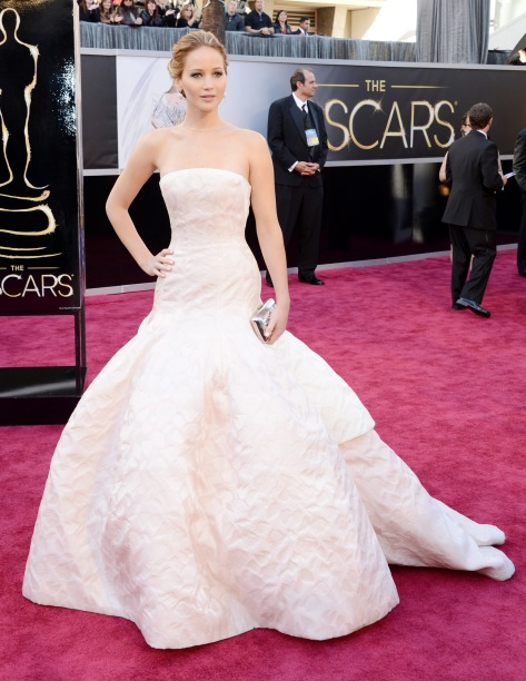 Jennifer Lawrence - Oscars 2013