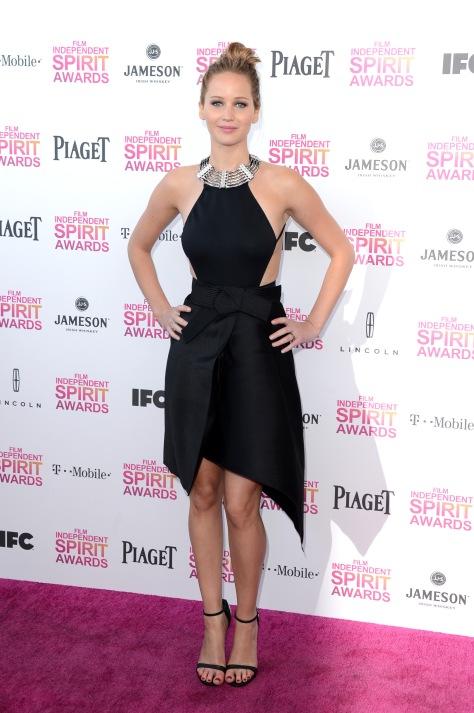 Jennifer Lawrence - @ Film Independent Spirit Awards in Santa Monica - 02/23/13