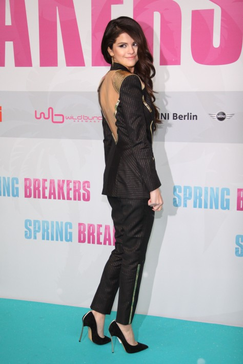 Selena Gomez - Spring Breakers premiere in Berlin 2/19/13