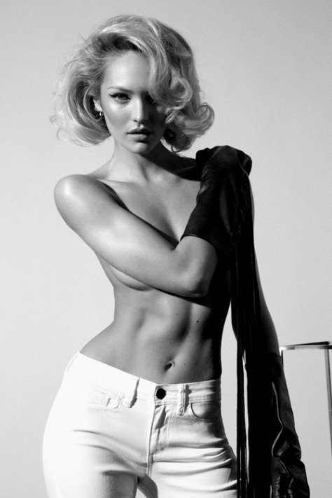 Candice Swanepoel by Collier Schorr for Muse.