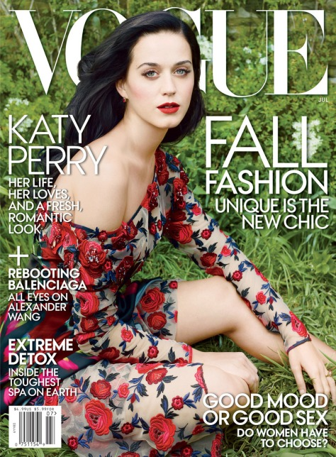 Katy Perry - Vogue Magazine July 2013