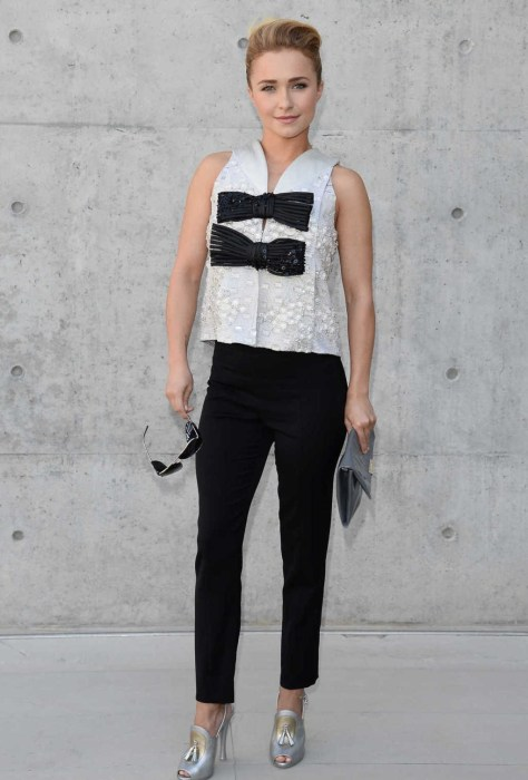 Hayden Panettiere - Giorgio Armani fashion show in Milan 06/25/13