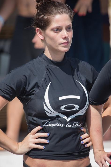 Ashley Greene at Oakley Bali Learn to surf in Benoa - 06/19/13