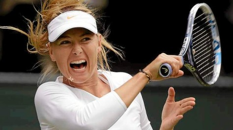 Maria Sharapova at Wimbledon 2013