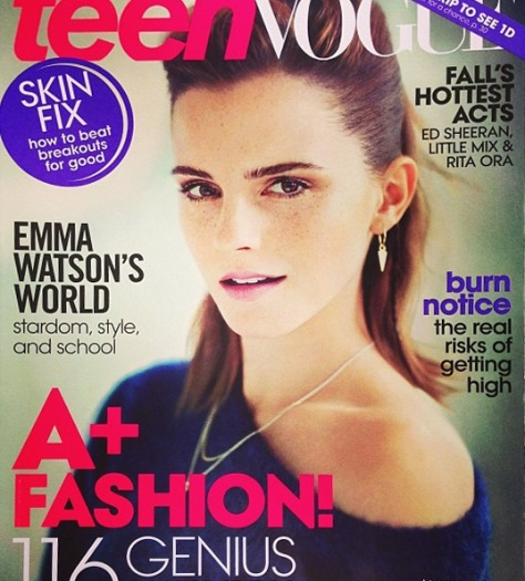 Emma Watson - Teen Vogue (August 2013)