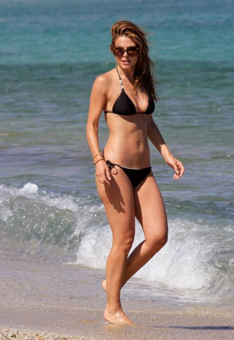 Maria Menounos - at a beach in Greece 06/19/13