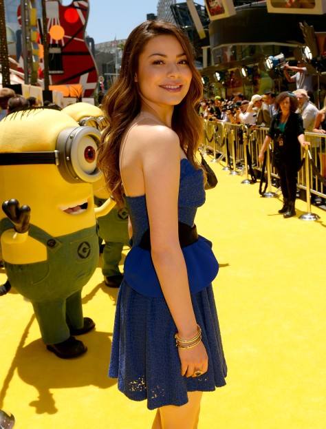 Miranda Cosgrove - 'Despicable Me 2' premiere in Universal City 6/22/13