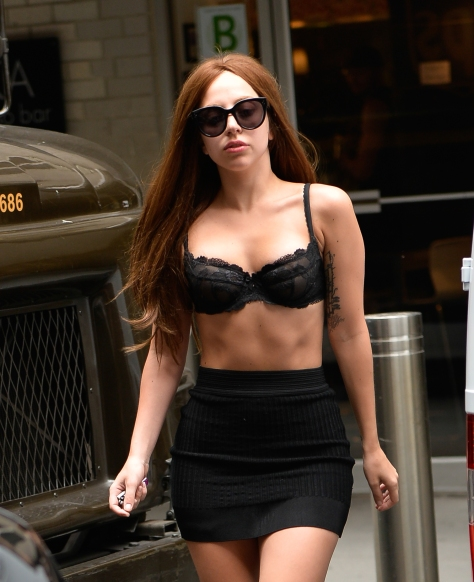 Lady Gaga Out in NYC (July 11)